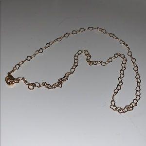 Brandy Melville heart necklace!